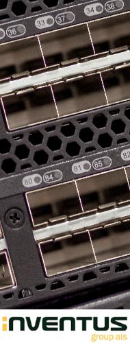 Lenovo B6505, 12 ports activated w/ 8GB SWL SFPs, 1 PS, Rail Kit